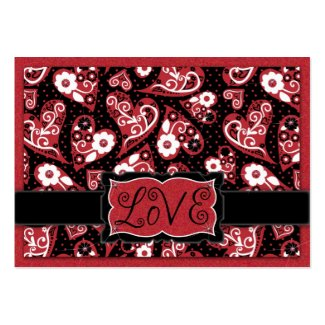 For Your Love Gift Tag profilecard