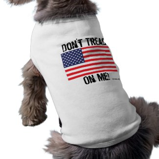 For your Patriotic Pooch T-Shirt