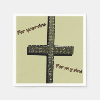 For Your Sins, for My Sins Napkins