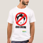 Fora Dilma Playera