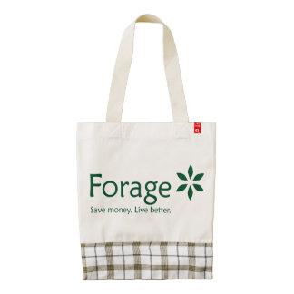 Forage Zazzle HEART Tote Bag