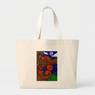 Foraging Red squirrels Bag