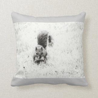 Foraging Squirrel (IR) Pillow