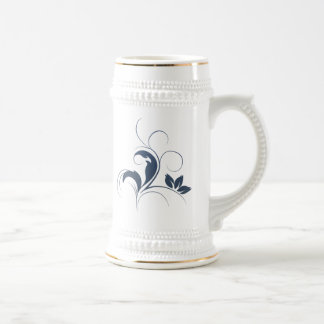 Foral Art Beer Stein