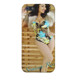 Foral Bathing Suit iPhone 4 case