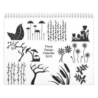 Foral Design Calendar