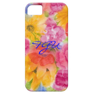 Foral Glory Uno iPhone 5/5S Barely There iPhone SE/5/5s Case