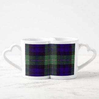 Forbes clan Plaid Scottish tartan Coffee Mug Set