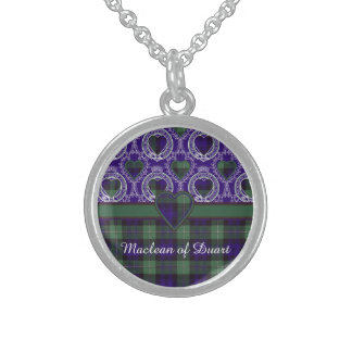 Forbes clan Plaid Scottish tartan Sterling Silver Necklace