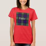 Forbes clan Plaid Scottish tartan T-Shirt