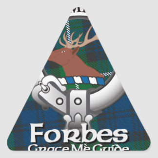 Forbes Clan Triangle Stickers