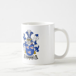 Forbes Family Crest Coffee Mugs