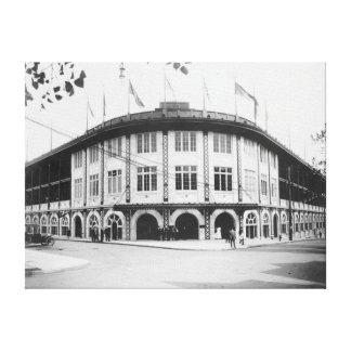Forbes Field Stadium Pittsburgh Baseball Canvas Print