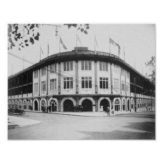 Forbes Field Stadium Pittsburgh Baseball Posters