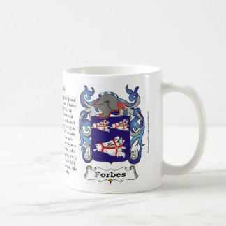 Forbes, History, Meaning and the Crest Mug