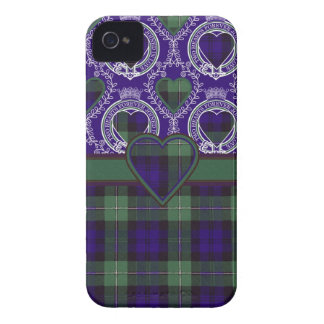 Forbes scottish clan tartan - Plaid iPhone 4 Case