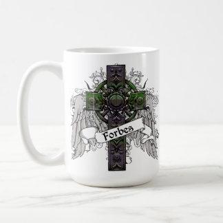 Forbes Tartan Cross Coffee Mug
