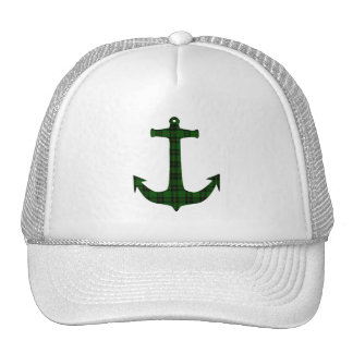 Forbes Tartan Plaid Anchor Trucker Hat