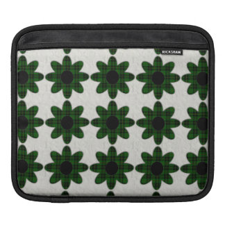 Forbes Tartan Plaid Daisies iPad Sleeve