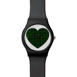Forbes Tartan Plaid Heart Watch