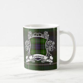 Forbes Tartan Shield Coffee Mug