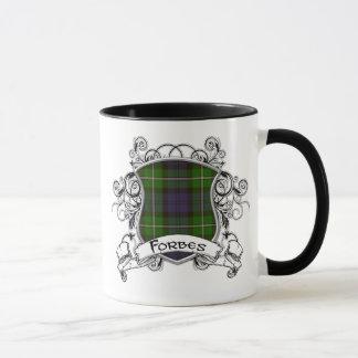 Forbes Tartan Shield Mug