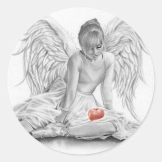 Forbidden Angel Ballerina Sticker
