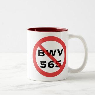 Forbidden BWV 565 mug