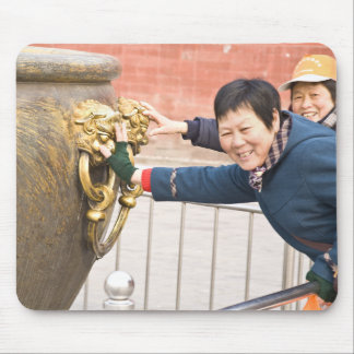 Forbidden City Beijing Touch for Luck Mouse Pad