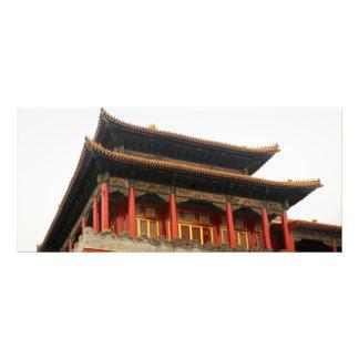 Forbidden City Building Custom Rack Cards