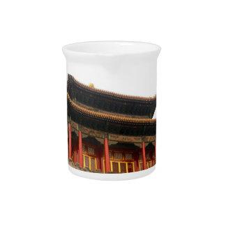 Forbidden City Building Pitcher