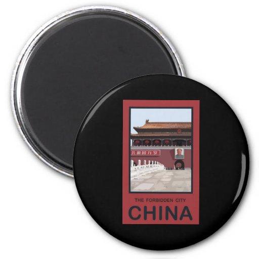 Forbidden City China Magnets