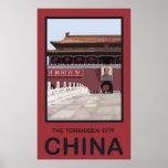 Forbidden City China Print