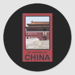 Forbidden City China Sticker