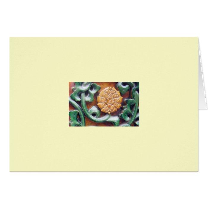 """""""Forbidden City Detail #1"""" Card"""