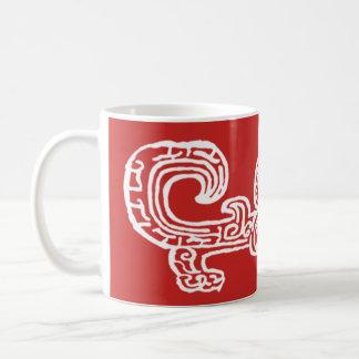 Forbidden City Dragon 11oz inverse print mug