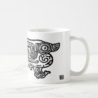 Forbidden City Dragon 11oz mug