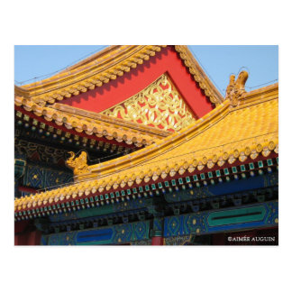 Forbidden City in China Postcard