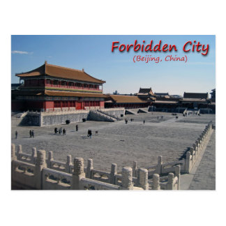 Forbidden City Postcard