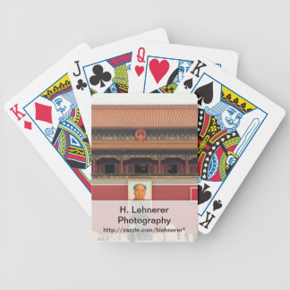 Forbidden City Southern Gate Bicycle Playing Cards