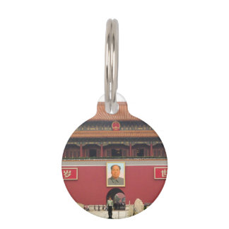Forbidden City Southern Gate Pet ID Tag