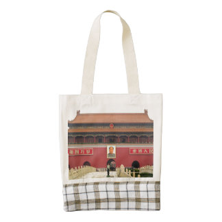 Forbidden City Southern Gate Zazzle HEART Tote Bag