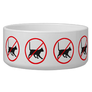 Forbidden For Cats! Bowl