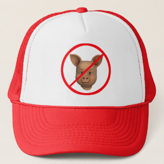 Forbidden For Pigs! Trucker Hat