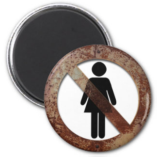 Forbidden for women magnet