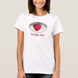 Forbidden Fruit - heart-shaped apple T-Shirt