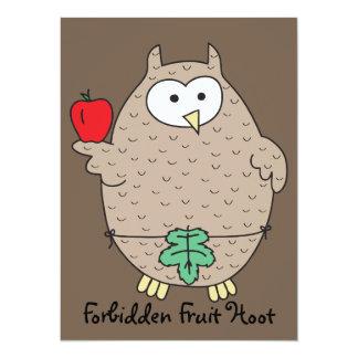 Forbidden Fruit Hoot Card