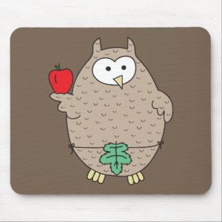 Forbidden Fruit Hoot Mouse Pad