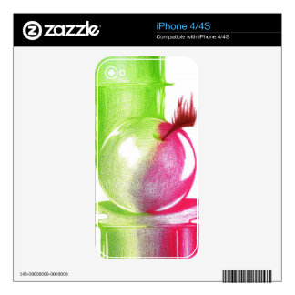 Forbidden Fruit Skin For The iPhone 4S