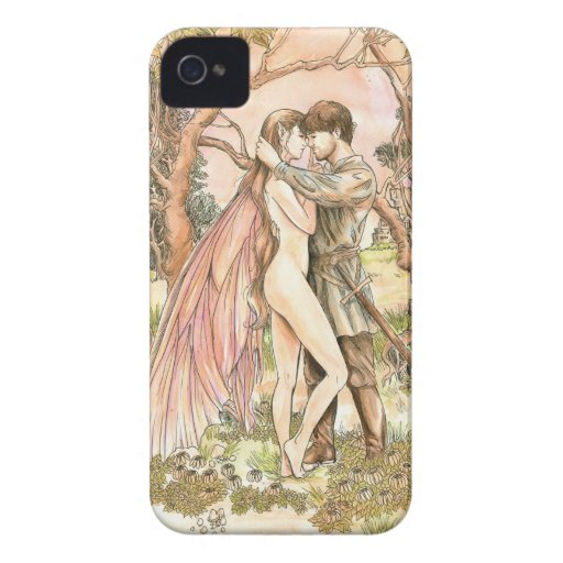 """""""Forbidden Love"""" Barely There iPhone 4 Case"""